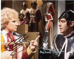 Colin Baker & Michael Jayston  DOCTOR WHO Genuine Signed Autograph,  11138 COA